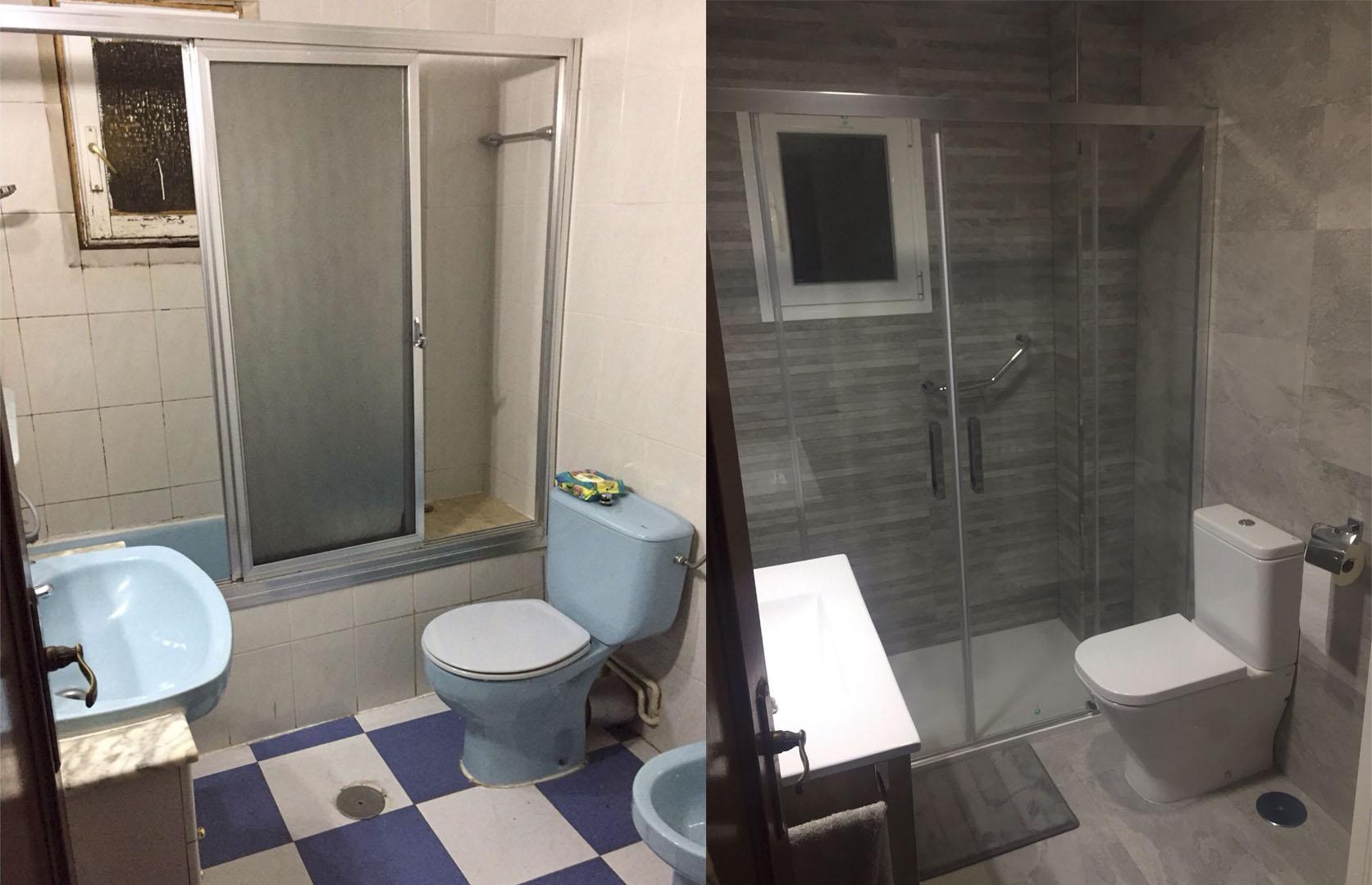 Reforma del baño completo