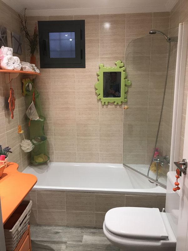 Reforma integral de baño - Antes