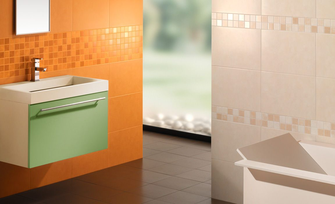 Tipos de azulejos para baño